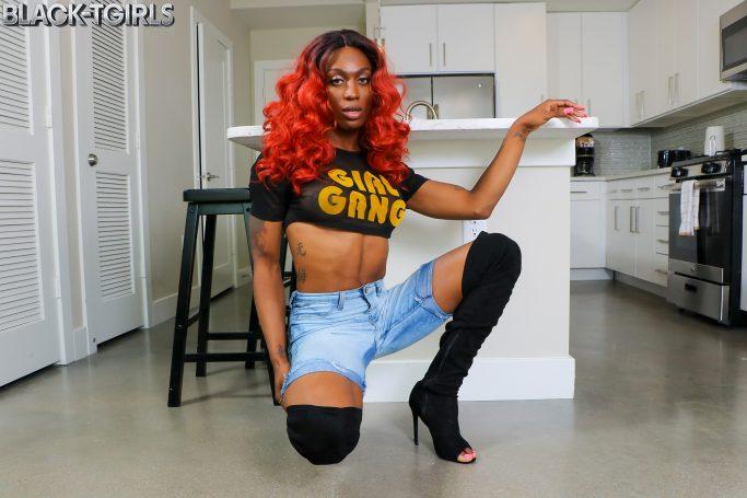 Tiara Black TGirls