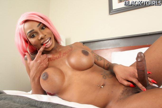 Holly Strokes Black TGirls