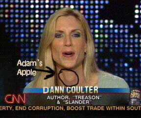 IS ANN COULTER A TRANNY? - HungAngels - Guide to Shemales and Transsexuals