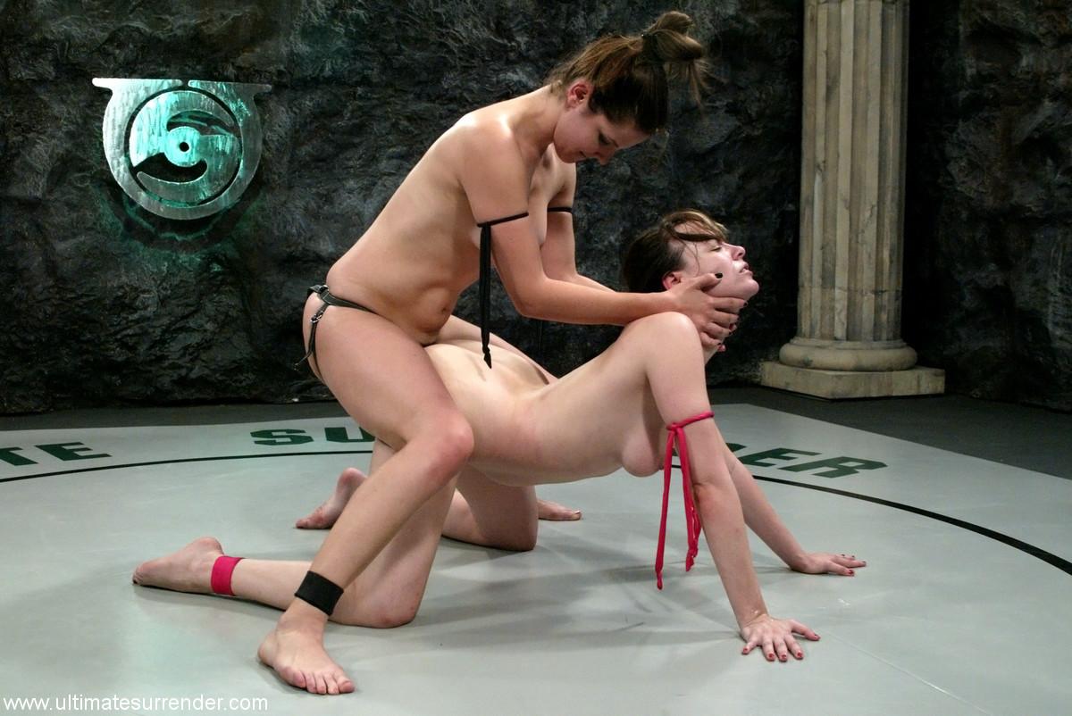 Shemale wrestling video